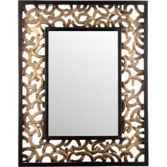 With its ornate frame design, this statement mirror creates an eye-catching focal point in your hallway or living room – perfect for last-minute touch-ups ...