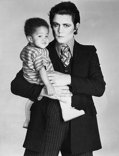 Marc and baby Rolan Bolan
