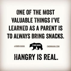 Momming 101. 🍎 Because hangry is real. And maybe even a little dangerous. 😡😂 #hangryisreal #momlife #momlifebelike #hangrykid #hangry #hanger