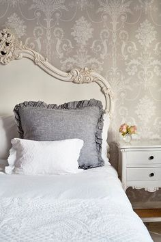 Our lovely showroom. #Frenchbedroomcompany French bedrooms Romance Shabby chic