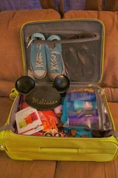 Picturing Disney: Packing in American Tourister Luggage for Disney!