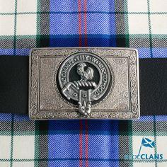 Sinclair Clan Crest Buckle