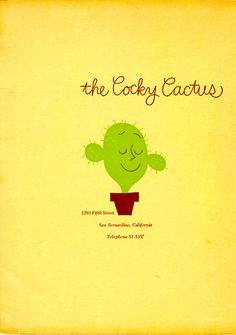 Cocky Cactus  195-?