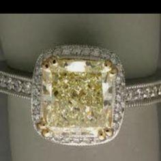 Yellow engagement ring!!