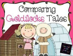 Comparing Goldilocks Tales - This unit is filled with Common Core aligned comprehension activities and literacy center ideas to use with Goldilocks and the Three Bears as retold by James Marshall and The Three Snow Bears by Jan Brett. Students will identify story elements found in each Goldilocks tale, summarize the texts, compare and contrast characters, and more! $ #folktales #commoncore #compareandcontrast