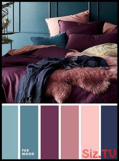 Peach Mauve Purple Navy blue and purple Color palette for bedroom # color # colo. Peach Mauve Purple Navy blue and purple Color palette for bedroom # color # color Wedding Deco Bedroom Colour Palette, Colour Pallete, Calming Bedroom Colors, Winter Colour Palette, Bedroom Colour Schemes Neutral, Bright Bedroom Colors, Guest Bedroom Colors, Romantic Bedroom Colors, Colourful Bedroom