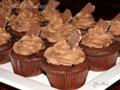 Nutella cupcakes Mmmmm