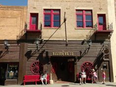 Saloon No. 10 - Deadwood, South Dakota  this is where Hickok was murdered on Aug. 2, 1876 by Jack McCall!