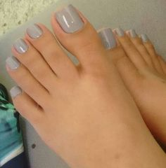 Perfect toes and nails
