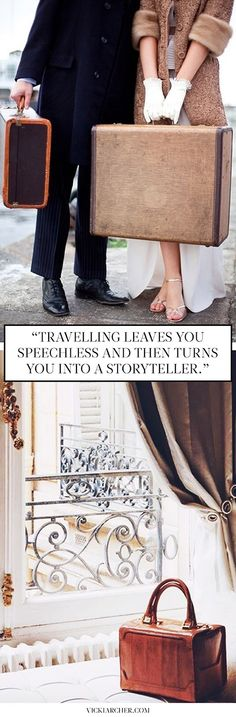 travelling leaves you speechless and then turns you into a storyteller