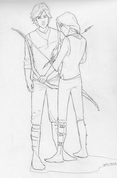 """""""District 12 Tributes by *burdge-bug"""" this girl's drawings are amazing :)"""