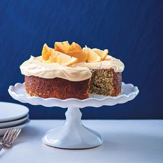 Has it o-curd to you that when life hands you lemons, you can shake and bake it into this delicious lemon-poppyseed cake with cream cheese and lemon curd icing?Recipe and styling by Claire Ferrandi and Nomvuselelo MncubePhotograph by Dylan Swart Baking Recipes, Dessert Recipes, Desserts, Poppy Seed Cake, Just Cakes, Cake With Cream Cheese, Icing Recipe, Cake Flour, Cake Tins