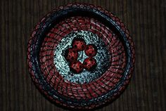 Pine Needle Basket Lucky Ladybugs by GailsBasketry on Etsy