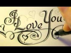 How To Draw Fancy Swirly Italic Lovely LOVE YOU Letters here are links to my fancy writing tutorials: http://www.youtube.com/watch?v=hu7i1qbS1f8 http://www.youtube.com/watch?v=3OYhq6HbJ4U=relmfu http://www.youtube.com/watch?v=IZWPgz8YXTg http://www.youtube.com/watch?v=5_QvfifwZfM