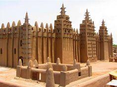 Great Mosque of Djenne. Mali Djenne, Mali. 1907