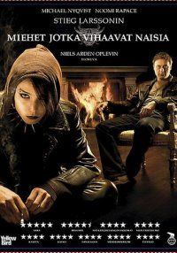 Män som hatar kvinnor (The original swedish movie of The Girl With The Dragon Tattoo) first from the Millennium-trilogy -Stieg Larsson Dragon Tattoo Film, Dragon Tattoos For Men, Pikachu, Pokemon, The Best Films, Great Movies, Fast And Furious, Movies Showing, Movies And Tv Shows