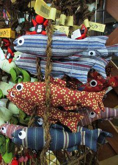 Fabric Fish; Kanawaza, Japan