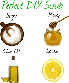 THIS is what I do at home usually every since my skin always dries out. Sugar + Honey + Olive Oil + Lemon = Perfect DIY Scrub