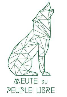 Le loup est l'emblème de la section louveteaux (8-12ans) de la fédération des Scouts de Belgique.