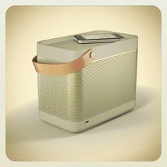 """Vogue Daily — """"Forget the boom box. Go Beolit 12. This speaker is my new summer handbag. I will take it to the pool, every terrace, and all beach parties. The sound is big, and it's so smart looking."""""""