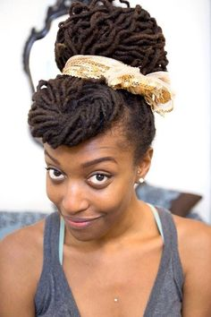 Franchesca is my hair idol. I love everything she does with her locs.