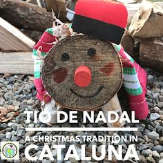 Caga Tió A Catalan Christmas Tradition Middle School Spanish, Elementary Spanish, Spanish Classroom, Teaching Spanish, Elementary Schools, Bilingual Classroom, Classroom Ideas, Spanish Lesson Plans, Spanish Lessons