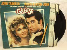 Grease Original Movie Soundtrack 1978 Vinyl Record Album