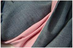 Zum Wenden - businesstauglicher Loop-Schal grau-rosa - ein Designerstück von A-Little-Fashion #fashion #inspiration #trend #fall #winter #summer #spring #pantone #frühjahr #sommer #herbst #style #outfit #ootd #filizity