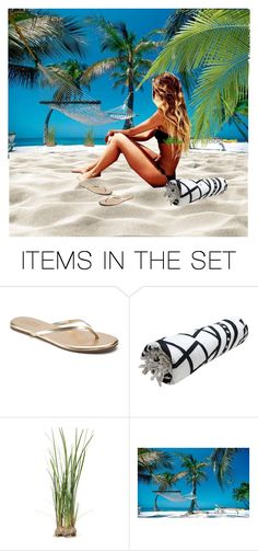 """Day at the beach #3"" by annie-travers ❤ liked on Polyvore featuring art"