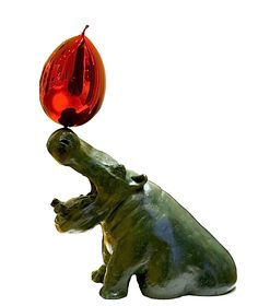 French artist Philippe Berry will bring his organic bronze furniture and sculptures – his whimsical Hippo Balloon below. Philippe Berry, Sculptures, Lion Sculpture, Colour Field, French Artists, Art Inspo, Pop Up, Whimsical, Berries