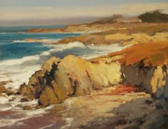 October in Pacific Grove by Brian Blood Oil ~ 11 x 14