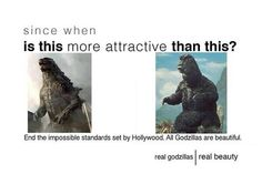Hollywoods impossible standards