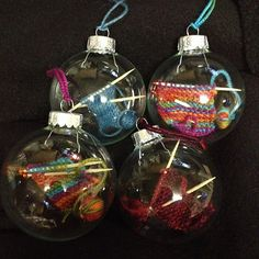 Ravelry: holeymolee's Christmas ornaments
