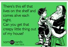 creepy elf on the shelf pictures   Creepy Elf on the Shelf
