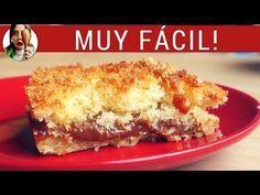 Receta de tarta de coco y dulce de leche, mi tarta favorita | Paulina Cocina