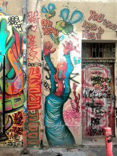 Theo Eifrig - street art - Marseille 6, rue pastoret (aout 2014)