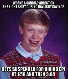 Nightshift daylight savings time