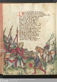 244 [120v] - Ms. germ. qu. 12 - Die sieben weisen Meister - Seite - Mittelalterliche Handschriften - Digitale Sammlungen