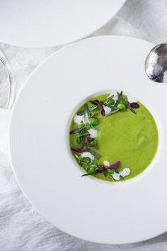 Split Pea Soup with Tarragon