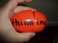 "This literacy center is called ""Eggtraordinary Endings"" and focuses on making words with inflectional endings. To make this center, you will need 10 plastic eggs. Write a root word on the largest side and an inflectional ending on the other smaller side.Break them apart, put them in a basket"