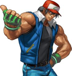 terry bogard (fatal fury, the king of fighters, and the king of fighters xiii) drawn by ogura eisuke - Danbooru Art Of Fighting, Fighting Games, Comic Character, Game Character, Character Reference, Character Concept, Terry Bogard Fatal Fury, Snk King Of Fighters, Thicc Anime
