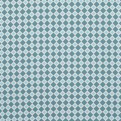 Blue Diamonds Outdoor Fabric