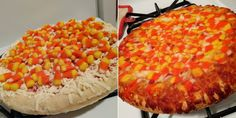 Twitter Freaks Out Over Candy Corn Pizza 🤢