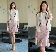 Korean Women`s Fashion Shopping Mall, Styleonme. Lace Skirt, Sequin Skirt, Royal Engagement, Korean Women, Skirt Outfits, Asian Fashion, Knitwear, Feminine, My Style