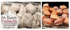 Homemade Pennsylvania Dutch Faschnachts {Doughnuts} Recipe