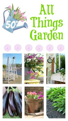 ~50 Tips, Tutorials, and Recipes all related to gardening~