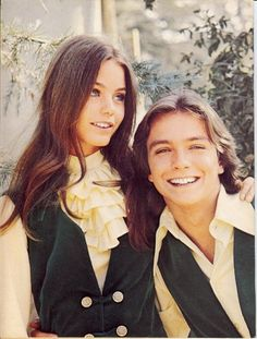 Susan Dey & David Cassidy in The Partridge Family (1970-74, ABC)