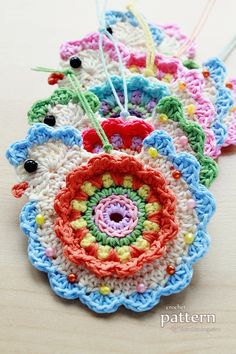 Crochet Pattern Happy Crochet Chick Pattern No. 055 by ZoomYummy Crochet Potholders, Crochet Motif, Cute Crochet, Crochet Flowers, Knit Crochet, Crochet Patterns, Crochet Kitchen, Crochet Home, Crochet Gifts