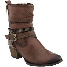 601217W-230 Earth Women's Spruce Casual Boots - Almond www.bootbay.com