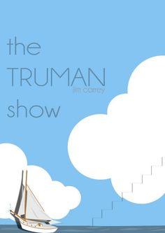 Minimal Movie Poster   The Truman Show